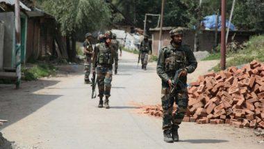 जम्मू काश्मीर:  दहशतवादी आणि सुरक्षारक्षकांमध्ये चकमक सुरु; त्राल परिसरातील जंगलात दहशतवादी लपलेले असल्याची शक्यता
