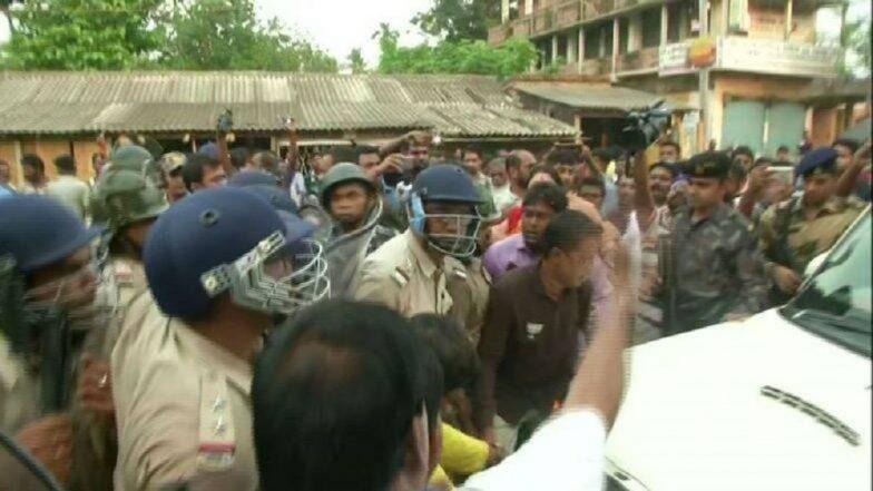 प. बंगाल हिंसाचार: कार्यकर्त्यांचे मृतदेह पक्षकार्यालयात घेऊन जाताना अडवले; भाजप कडून 'बंद'ची हाक, राज्यात काळा दिवस पाळणार