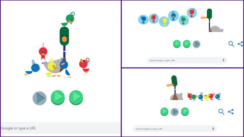 'बाबांचा दिवस' Google Doodle: जगभरातील बाप-लेकरांचं नातं उलगडणारं गूगलचं Father's Day विशेष डूडल