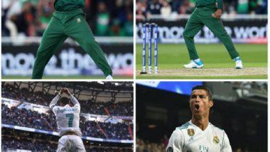 World Cup 2019: ICC कडून सौम्य सरकार याची क्रिस्टियानो रोनाल्डो याच्याशी तुलना, नेटकऱ्यांनी मिम्स द्वारे व्यक्त केला संताप