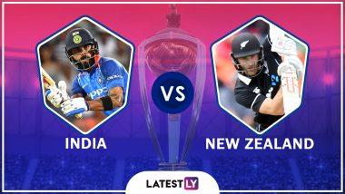 IND vs NZ, ICC World Cup 2019: नॉटिंगहॅममध्ये पाऊस थांबला पण टॉसला विलंब