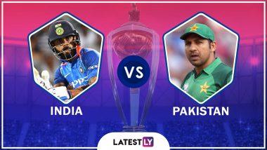 IND vs PAK, ICC World Cup 2019 Live Streaming: भारत विरुद्ध पाकिस्तान लाईव्ह सामना आणि स्कोर पहा Star Sports आणि Hotstar Online वर