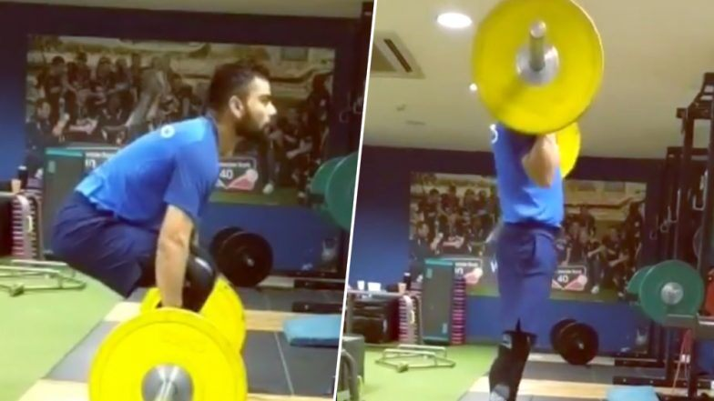 IND vs PAK, World Cup 2019: पाकिस्तान मॅच आधी विराट कोहली करतोय ही हटके Exercise, (Watch Video)