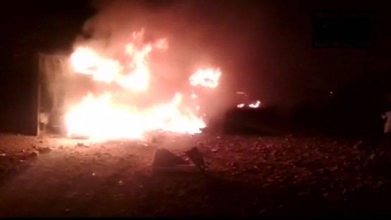 #Update धुळे : शिरपूर येथे केमिकल कंपनीत भीषण स्फोट, 10 जण मृत्युमुखी,43 जण गंभीर जखमी
