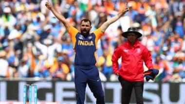 IND vs ENG, ICC World Cup 2019: मोहम्मद शमी ने केला विश्वकपमध्ये 5 विकेट घेण्याचा पराक्रम, शाहिद आफ्रिदी च्या विक्रमाची केली बरोबरी