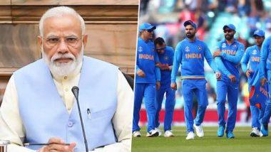 'खेल भी जितो और दिल भी' म्हणत नरेंद्र मोदी यांनी ICC World Cup 2019 साठी टीम इंडियाला दिल्या शुभेच्छा
