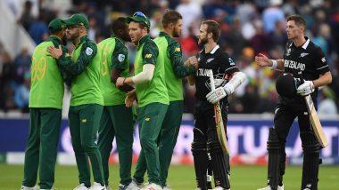NZ vs SA, ICC World Cup 2019: न्यूझीलंडचा विजयी चौकार, दक्षिण आफ्रिकेचं आव्हान संपुष्टात