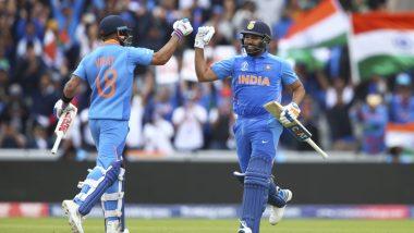 IND vs WI 2nd ODI: सचिन तेंडुलकर-वीरेंद्र सेहवाग या जोडीला मागे टाकत विराट कोहली-रोहित शर्मा यांची विक्रमी भागीदारी