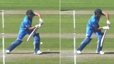 IND vs WI मॅचदरम्यान रोहित शर्मा च्या विवादित विकेट वर संतापले Netizens, थर्ड अंपायर ला केले ट्रोल