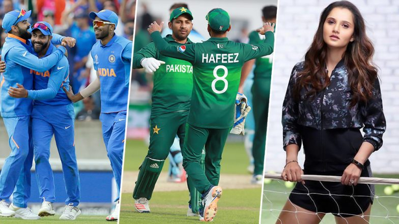 IND vs PAK, World Cup 2019: भारत-पाकिस्तान मधल्या 'AD-War' बद्दल सानिया मिर्झा म्हणते...