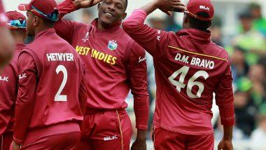 ICC World Cup 2019: शेल्डन कॉट्रेल च्या छोट्या चाहत्यांनी केले त्याच्या मिलिट्री स्टाइल सैल्यूट चे अनुकरण; खुश होऊन दिले IND vs WI मॅच बघण्याचे आमंत्रण