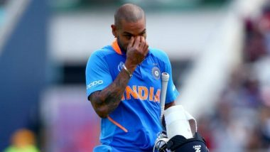 ICC World Cup 2019 मधून बाहेर पडल्यानंतर शिखर धवन भावूक; चाहत्यांचे आभार मानत टीम इंडियाला दिल्या शुभेच्छा (Watch Video)