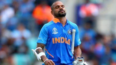 ICC World Cup 2019: सलामीवीर शिखर धवन विश्वकप मधून बाहेर; रिषभ पंतला संधी