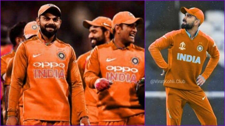 IND vs ENG मॅचसाठी भारतीय संघ होणार 'केशरी'; Team India वरही भगव्या रंगाची छाप असल्याचा Netizens चा सूर