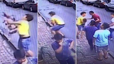 तुर्की: दोन वर्षांची मुलगी दुसऱ्या मजल्यावरुन खाली पडली; युवकाच्या प्रसंगावधानामुळे वाचले प्राण (Watch Video)