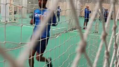 IND vs WI मॅचआधी भुवनेश्वर कुमार ने नेट्समध्ये केली गोलंदाजी, वेस्ट इंडिज विरुद्ध खेळण्यावर गूढ कायम (Video)