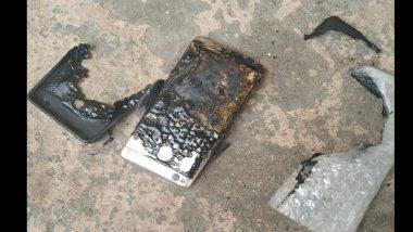 नाशिक येथे चार्जिंगला लावलेल्या MI मोबाईलचा स्फोट; घरातीन अनेक वस्तू जळाल्या