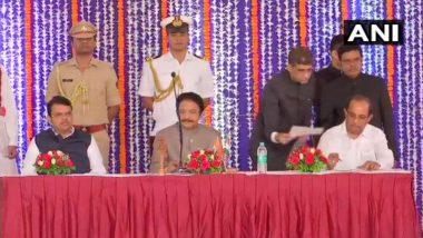 Maharashtra Cabinet Expansion 2019 Live Update: महाराष्ट्र मंत्रिमंडळाचा विस्तार पूर्ण, पाहा कोणत्या मंत्र्यांची लागली वर्णी