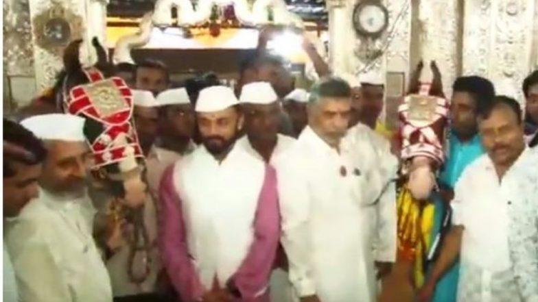 Mauli Palkhi 2019: आळंदी हून संत ज्ञानेश्वरांच्या पालखी प्रस्थानापूर्वी अश्वांची दगडूशेठ गणपतीला मानवंदना (Watch Video)