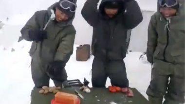 'इथे' अंडं फोडायला लागतो हातोडा, भारतीय सैनिकाने शेअर केला व्हिडीओ (Watch Video)