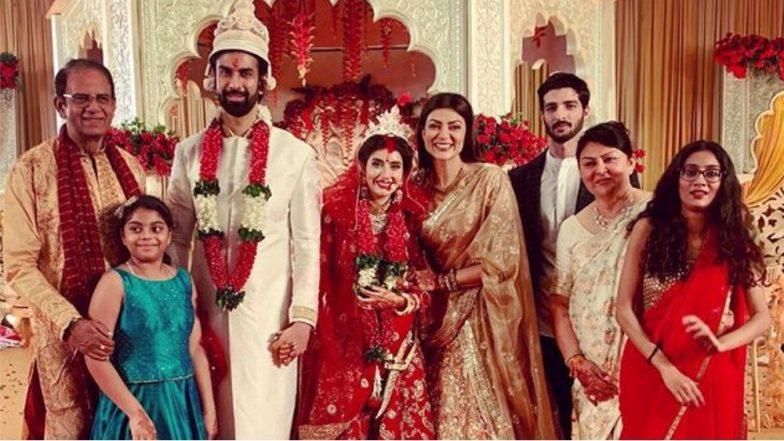 सुष्मिता सेन सख्या भावाच्या लग्नातच आपल्या कुटूंबासोबत का झोपली; पहा लग्नसोहळ्यातील धमालमस्ती