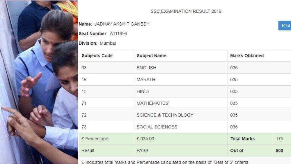 मुंबई : मीरा रोड येथील अक्षित जाधव ची महाराष्ट्र बोर्ड  SSC Result 2019 मध्ये अनोखी कामगिरी; सार्या विषयात 35% गुणांसह पास होणारा एकमेव विद्यार्थी