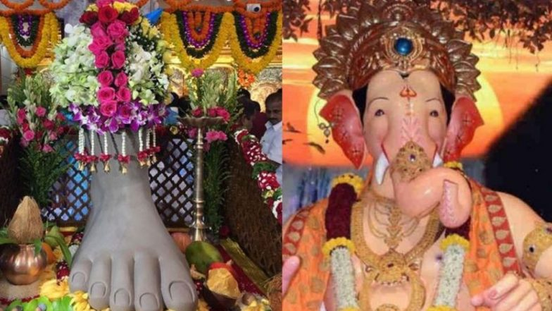 Lalbaugcha Raja Padya Pujan 2019 Live Streaming: संकष्टी चतुर्थी च्या मुहूर्तावर आज लालबागचा राजा पाद्य पूजन सोहळा रंगणार; lalbaugcharaja.com सह सोशल मीडियावर पहा थेट प्रक्षेपण