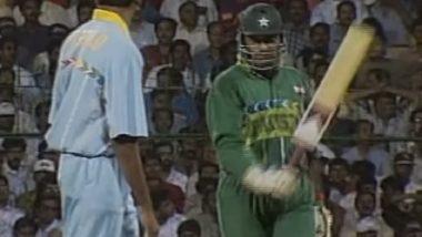 IND vs PAK, World Cup 2019 Flashback! 1996 विश्वकप मधील वेंकटेश प्रसाद-आमिर सोहेल यांच्यात झालेला असविस्मर्णीय Face-Off (Video)