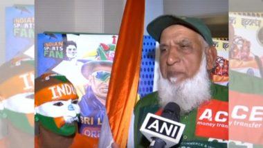 IND vs PAK, ICC World Cup 2019: भारत व पाकिस्तान संघाच्या फॅन्सचं मँचेस्टर मध्ये सामन्यापूर्वी सेलिब्रेशन,भारताचा सुधीर आणि पाकिस्तानच्या चाचा यांनी एकत्र येऊन धरला ताल (Watch Video)