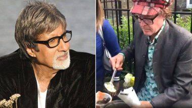 ओव्हल मैदानाबाहेर परदेशी भेळपुरी विक्रेत्याला पाहून अमिताभ बच्चन यांचे खास ट्विट