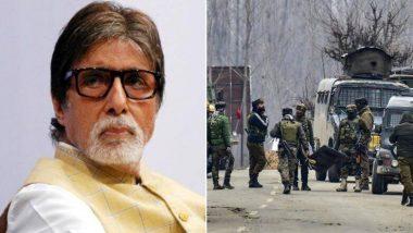 अमिताभ बच्चन यांनी पुलवामा हल्ल्यातील शहीद जवानांच्या कुटुंबियांना केली 5 लाखांची मदत