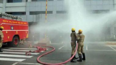 मुंबई: जोगेश्वरी मधील शांतीवन सोसायटीच्या रहिवाशी इमारतीत भीषण आग, अग्निशमन दलाचे पथक घटनास्थळी दाखल