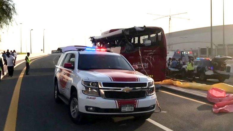 ओमान-दुबई बस अपघातात 8 भारतीय नागरिकांसह 17 जणांचा मृत्यू
