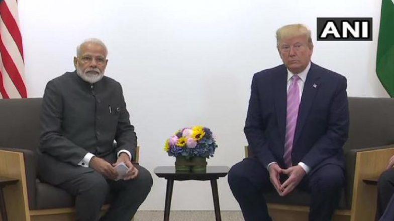 G-20 Summit in Japan: जी-20 शिखर परिषदेत पंतप्रधान मोदी, डोनाल्ड ट्रम्प यांची भेट; ईरान, 5 जी, सुरक्षा, द्वपक्षीय संबंध आदी मुद्द्यांवर चर्चा