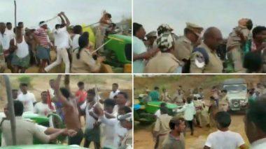 धक्कादायक! तेलंगाना मध्ये महिला पोलिसांना टीआरएस कार्यकर्त्यांची अमानुष मारहाण; देशात संतापाची लाट (Video)