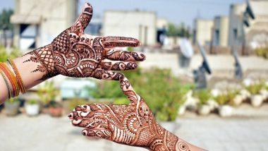 Naag Panchami 2020 Mehendi Designs: नाग पंचमी निमित्त सोप्प्या आणि आकर्षक मेहंदी डिझाइन्स हातावर काढून साजरा करा सण