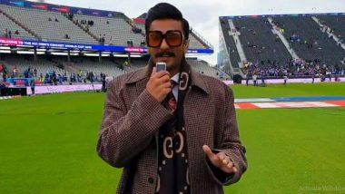 Ind vs Pak, ICC World Cup 2019 सामन्यावेळी रणवीर सिंह खेळाडू-सामना अधिकाऱ्यांच्या क्षेत्रात दिसला, ICC ने दिले स्पष्टीकरण