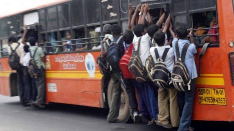 चेन्नई: विद्यार्थ्यांना 'बस डे' सेलिब्रेशनचा अतिउत्साह पडला महागात आणि पुढे असे झाले... (Watch Video)