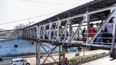 मुंबई: सैफी हॉस्पिटल येथील चर्नी रोड रेल्वेस्थानकाला जोडणारा पादचारी पूल धोकादायक असल्याने नागरिकांसाठी बंद