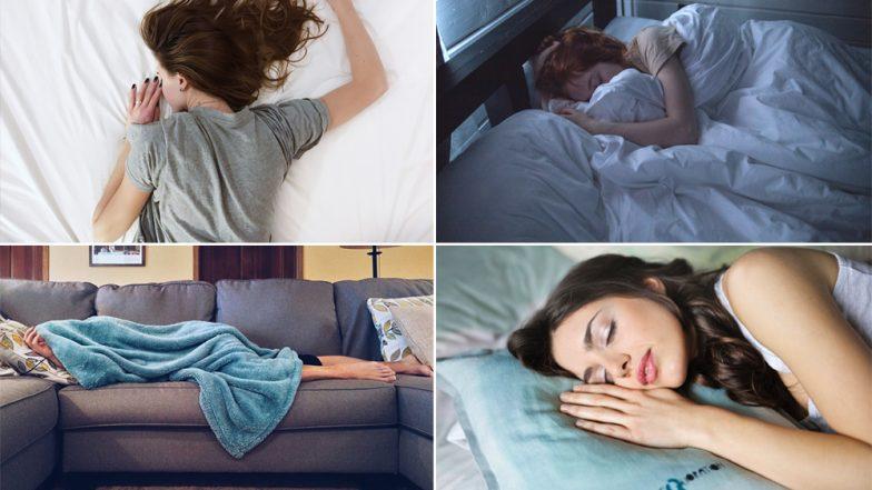 झोपण्याची योग्य पद्धत आणि त्याचा शरीरावर होणारा परिणाम