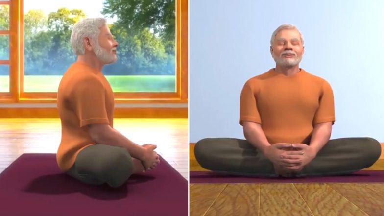 International Yoga Day 2019: नरेंद्र मोदी सांगत आहेत भद्रासनाचे फायदे (Watch Video)