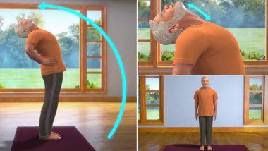 International Yoga Day 2019: व्हिडिओच्या माध्यमातून नरेंद्र मोदी यांनी समजावले अर्ध चक्रासनाचे महत्त्व आणि फायदे