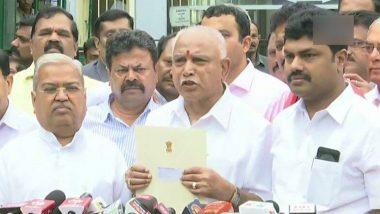 B S Yediyurappa आज संध्याकाळी घेणार कर्नाटकच्या मुख्यमंत्री पदाची शपथ