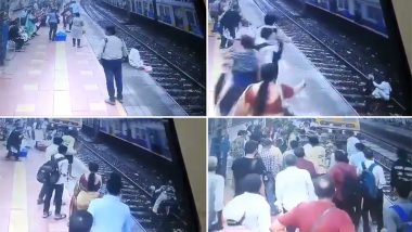 मुंबई सेंट्रल स्थानकात ट्रेन येताच वृद्धाने फ्लॅटफॉर्मवरुन मारली उडी; जवानांच्या समयसूचकतेमुळे वाचले प्राण (Watch Video)