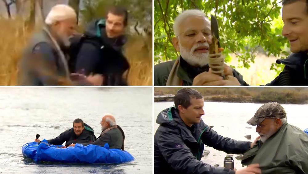 डिस्कवरी चॅनेलवरील 'Man Vs Wild' या शो मध्ये दिसणार पंतप्रधान नरेंद्र मोदी, Watch Video