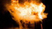 पुण्यातील खराडी येथे गॅस गळती होऊन स्फोट; 6 महिन्यांच्या मुलीसह आई-वडील गंभीर जखमी