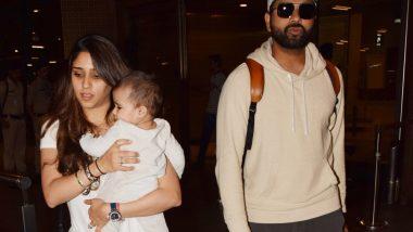 टीम इंडिया ला मागे टाकत रोहित शर्मा, पत्नी रितिका आणि लेक समायरा सह मुबंईत परतला, पहा (Photos)