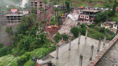 Himachal Pradesh: पावसामुळे 3 मजली इमारत कोसळली; 23 जणांचा वाचवण्यात यश, अजून 12 जण अडकल्याची भीती