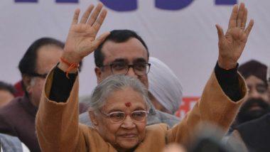 Sheila Dikshit Passes Away: दिल्लीच्या माजी मुख्यमंत्री, काँग्रेस पक्षाच्या जेष्ठ नेत्या शीला दीक्षित यांचे निधन