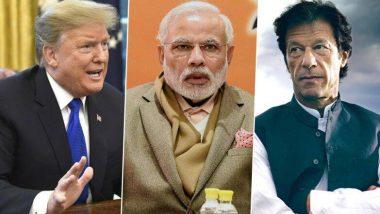 भारत आणि पाकिस्तान यांच्यातील तणाव घटला, मी त्यांची मदत करु इच्छितो-डोनाल्ड ट्रम्प